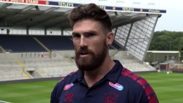 wigan rugby league player jarrod sammut talks about his mental health issues ahead of super league's wellbeing round - mental wellbeing stock videos & royalty-free footage