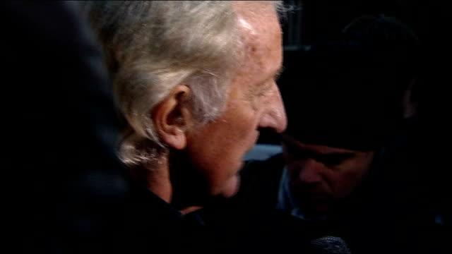 wikileaks founder julian assange jailed: john pilger and ken loach leave courthouse; various of pilger speaking to reporters john pilger interview... - john pilger stock videos & royalty-free footage