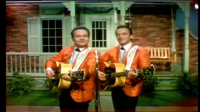 """wilburn brothers show"" opening sequence the wilburn brothers perform ""trouble's back in town"" announcer introduces show regulars loretta lynn and... - mailbox stock videos and b-roll footage"