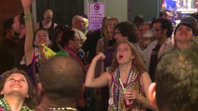 wild costumes parades and parties rule the streets of new orleans on mardi gras new orleans louisiana united states - gras stock videos and b-roll footage