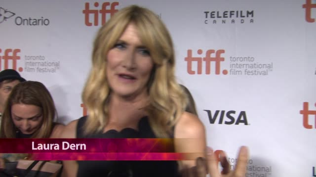 chyron wild premiere toronto international film festival 2014 at roy thomson hall on september 08 2014 in toronto canada - toronto international film festival stock videos and b-roll footage