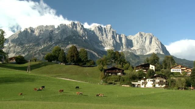 wilde kaiser, mountain range - tyrol state austria stock videos and b-roll footage