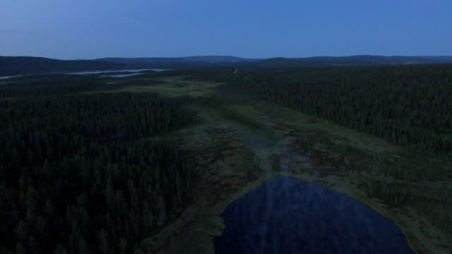 wilderness lake in finland - purity stock videos & royalty-free footage