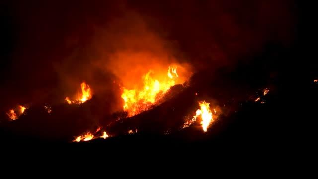 Wildfire queimadura no Hills (HD