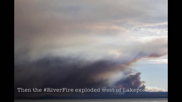 wildfire spread fast among hills west of the town of lakeport, california, on july 28 and 29, destroying buildings and sparking... - northern california stock videos & royalty-free footage