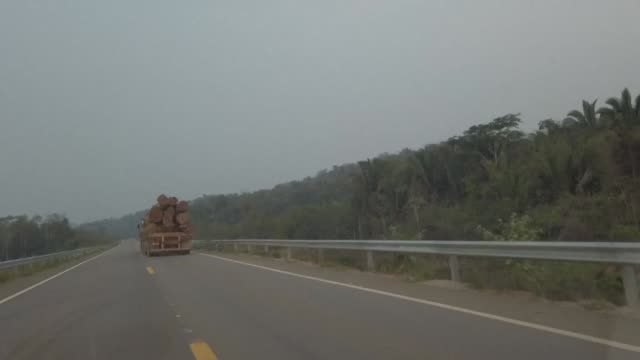 vídeos de stock e filmes b-roll de wildfires rage in the amazon rainforest in brazil's rondonia state - amazonas state brazil