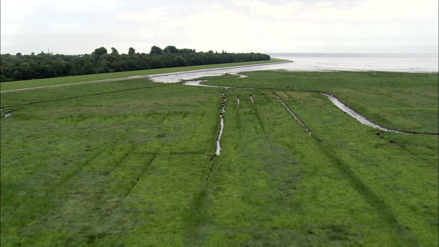 wilhelmshaven docks  - aerial view - lower saxony,  germany - navel stock videos & royalty-free footage