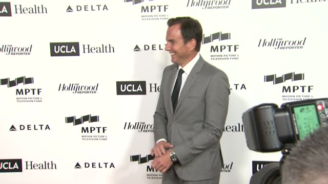 will arnett at 3rd annual reel stories, real lives benefiting the motion picture & television fund in los angeles, ca 4/5/14 - ウィル アーネット点の映像素材/bロール