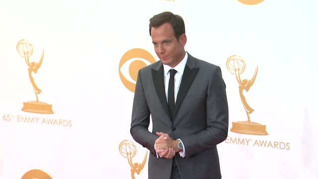 will arnett at 65th annual primetime emmy awards - arrivals will arnett at 65th annual primetime emmy awards at nokia theatre l.a. live on september... - ウィル アーネット点の映像素材/bロール