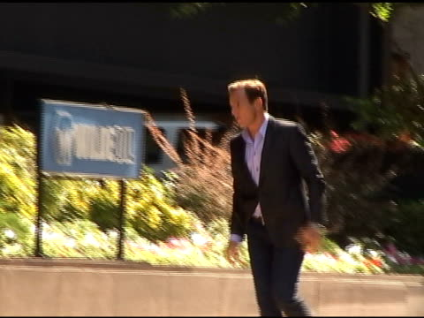 will arnett on the set of running wilde 0/82/62010 at the celebrity sightings in new york at new york ny - will arnett stock videos and b-roll footage