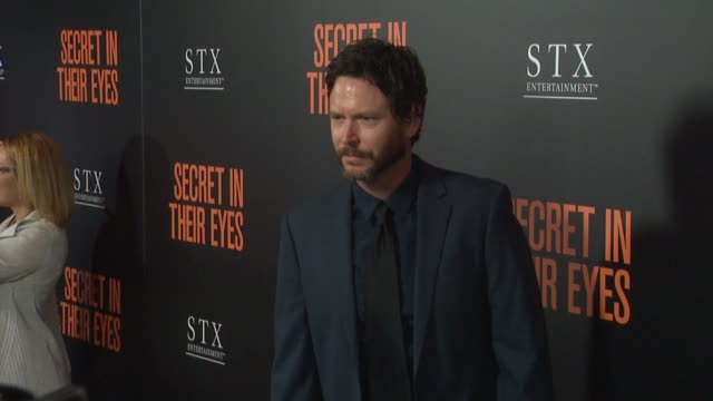 Will Beinbrink at Secret In Their Eyes Los Angeles Premiere at Hammer Museum on November 11 2015 in Westwood California