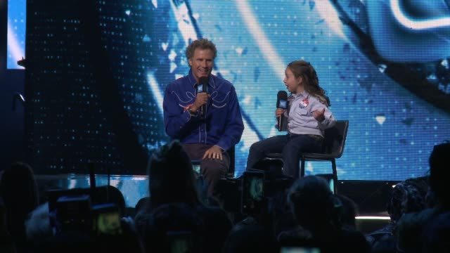 speech will ferrell and macey hensley at we day california 2018 at the forum on april 19 2018 in inglewood california - inglewood video stock e b–roll
