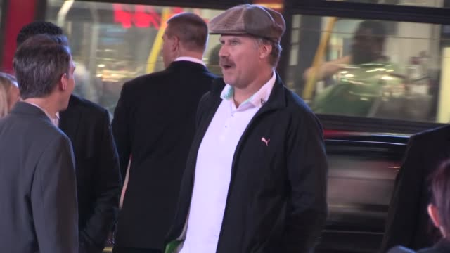 will ferrell arrives at wreck it ralph premiere in hollywood at celebrity sightings in los angeles will ferrell arrives at wreck it ralph premiere in... - premiere stock videos & royalty-free footage