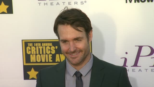 Will Forte at 19th Annual Critics' Choice Movie Awards Arrivals at The Barker Hanger on in Santa Monica California