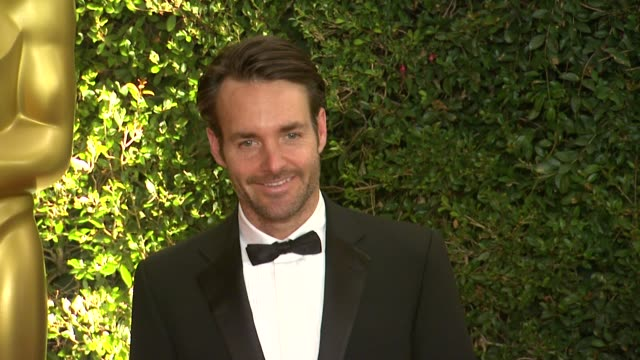 will forte at academy of motion picture arts and sciences' governors awards in hollywood ca on - 映画芸術科学協会点の映像素材/bロール