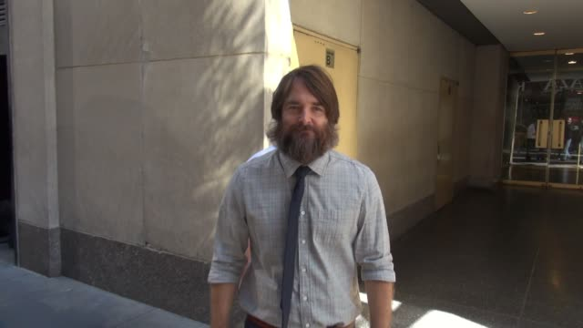 Will Forte leaving the 'TODAY' show talks about his beard on September 23 2015 in New York City