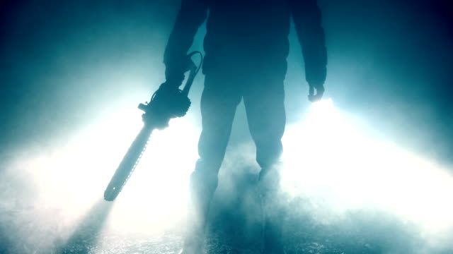 i will kill you - chainsaw stock videos & royalty-free footage