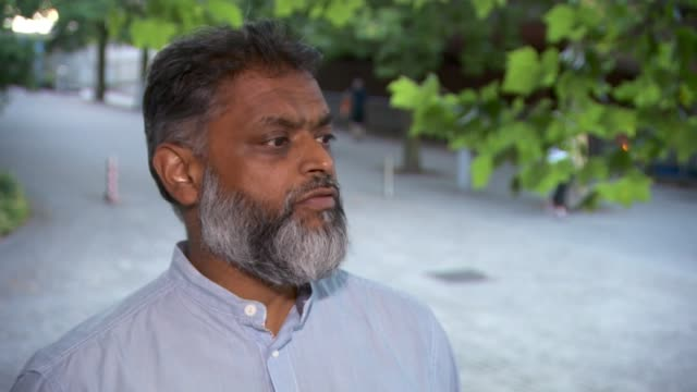 uk will not oppose the death penalty for former british terror suspects from notorious islamic state gang 'the beatles' if sent to the us for trial... - moazzam begg stock videos & royalty-free footage