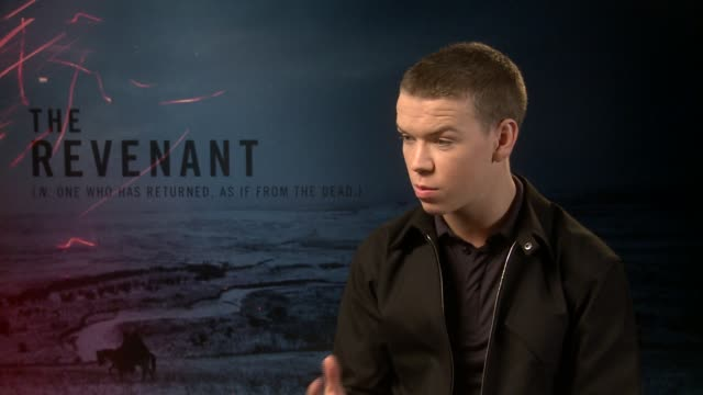INTERVIEW Will Poulter on suffering on set not knowing how hard it would be emotional limits bringing reality to their characters at 'The Revenant'...