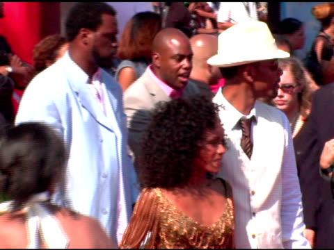 will smith and jada pinkett smith at the 2005 bet awards arrivals at the kodak theatre in hollywood, california on june 28, 2005. - jada pinkett smith stock videos & royalty-free footage