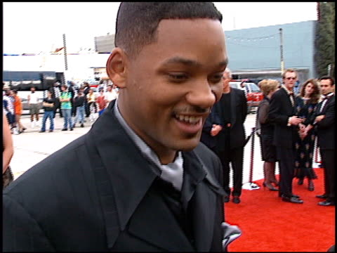 vídeos de stock e filmes b-roll de will smith at the blockbuster awards at hollywood pantages theater in hollywood, california on march 11, 1997. - pantages theater