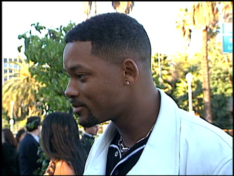 will smith at the blockbuster awards at pantages theater in hollywood california on march 6 1996 - 1996 stock videos & royalty-free footage