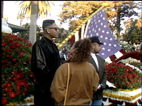 will smith at the spirit of america float on january 1, 1990. - 1990 stock videos & royalty-free footage