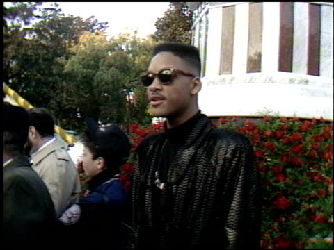 Will Smith at the Spirit of America Float on January 1 1990