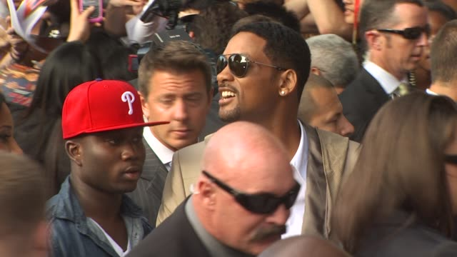 Will Smith at the 'The Karate Kid' Premiere at Westwood CA
