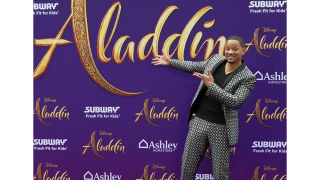 Will Smith at the world premiere of Disney's Aladdin held at the El Capitan Theatre on May 21 2019 in Los Angeles California