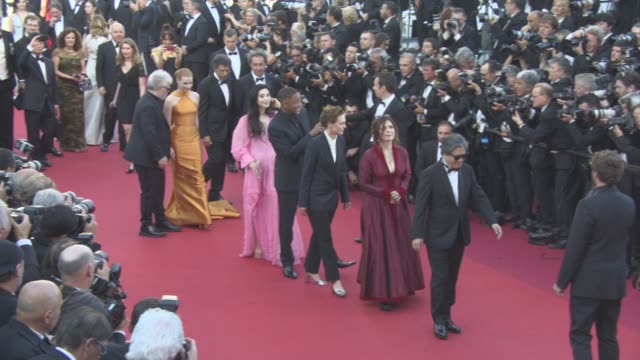 Will Smith Gabriel Yared Agnes Jaoui Park Chanwook Jessica Chastain Pedro Almodovar Fan Bingbing Maren Ade Paolo Sorrentino at Cannes Film Festival...