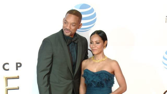 Will Smith Jada Pinkett Smith at 47th NAACP Image Awards in Los Angeles CA