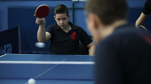 i will win this - table tennis stock videos & royalty-free footage