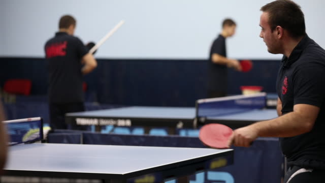 i will win this - table tennis stock videos and b-roll footage