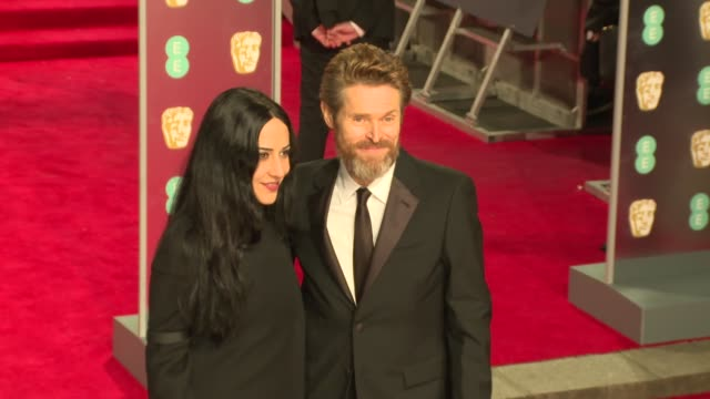 Willem Dafoe at Royal Albert Hall on February 18 2018 in London England