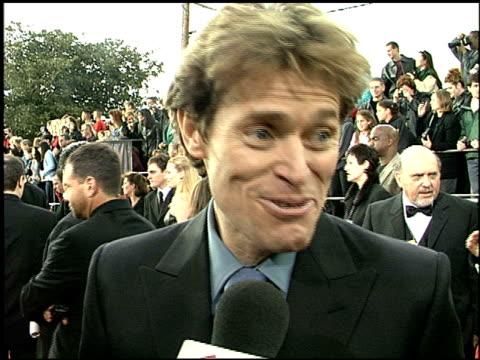 Willem Dafoe at the 2001 Screen Actors Guild SAG Awards arrivals at the Shrine Auditorium in Los Angeles California on March 11 2001