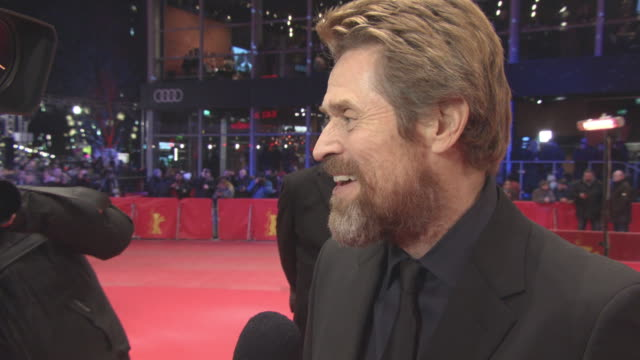 INTERVIEW Willem Dafoe on being honoured with the award looking back on his career at 68th Berlin Film Festival Willem Dafoe Awarded Golden Honorary...
