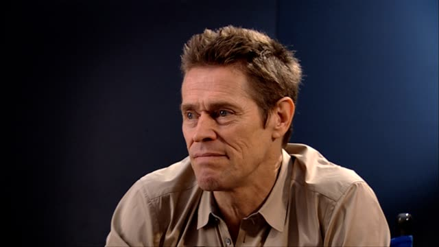 willem dafoe on the story at the 4:44 last day on earth interviews: venice film festival 2011 at venice . - last day stock videos & royalty-free footage