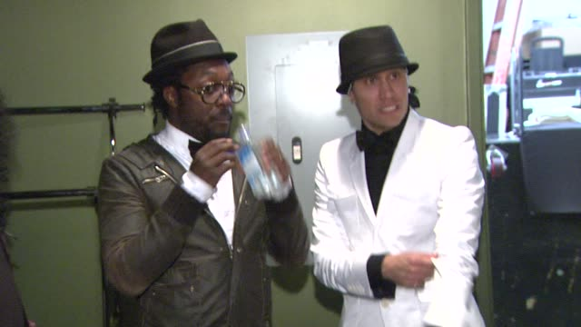 william and taboo at the 5th annual black eyed peas peapod foundation benefit concert at los angeles ca - black eyed peas stock videos & royalty-free footage