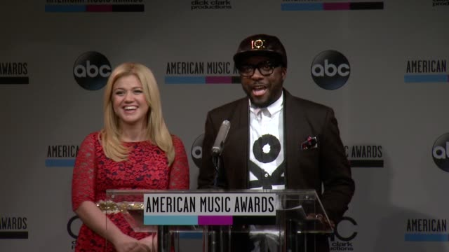 speech william announces the favorite country album at the 2013 american music awards nominations press conference at bb king blues club grill on... - 2013 american music awards stock videos & royalty-free footage
