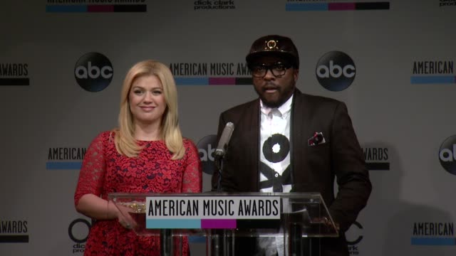 speech william announces the favorite male oountry artist at the 2013 american music awards nominations press conference at bb king blues club grill... - 2013 american music awards stock videos & royalty-free footage