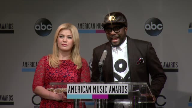 speech william announces the latin music nominees at the 2013 american music awards nominations press conference at bb king blues club grill on... - 2013 american music awards stock videos & royalty-free footage
