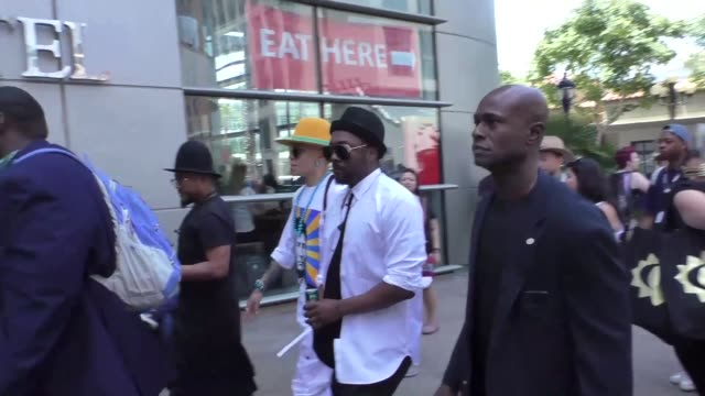 william apldeap and Taboo at Celebrity Sightings at San Diego ComicCon International on July 22 2017 in San Diego California