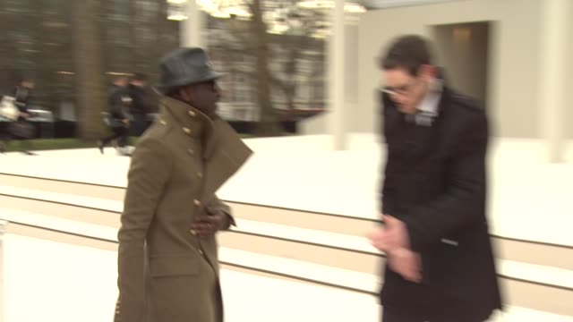 william at Burberry Prorsum Red Carpet Arrivals London Fashion Week Autumn/Winter 2012 at Kensington Gardens on February 20 2012 in London England