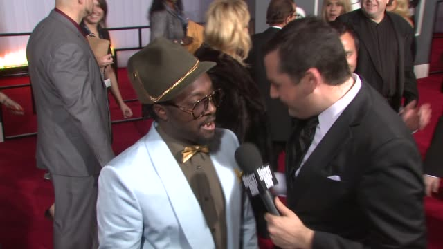 william at the 51st annual grammy awards part 2 at los angeles ca - will.i.am stock videos & royalty-free footage