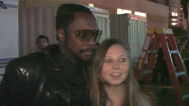 william at the black eyed peas' seventh annual peapod benefit concert at the celebrity sightings in los angeles at los angeles ca - the black eyed peas band stock videos and b-roll footage