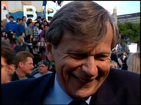 William B Davis at the Premiere of 'The X Files Fight the Future' on June 11 1998