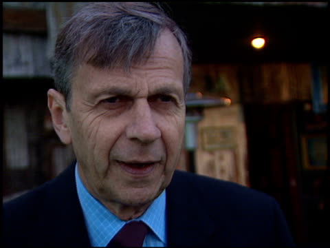 William B Davis at the XFiles Wrap Party at House of Blues in Los Angeles California on April 27 2002