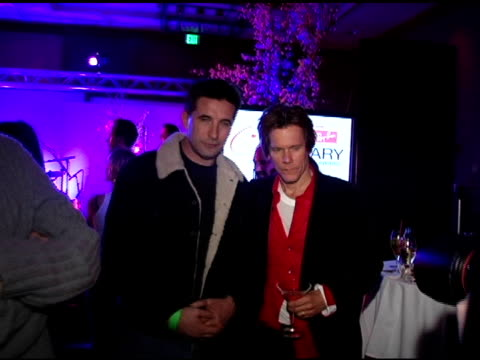 William Baldwin and Kevin Bacon at the Kevin Bacon Reception of the 2005 RayBan Visionary Award Hosted by Creative Coalition and Hollywood Life at...