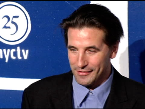 william baldwin at the ifp's 15th annual gotham awards arrivals at pier 60 at chelsea piers in new york new york on november 30 2005 - chelsea piers stock videos & royalty-free footage